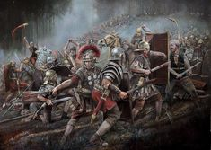 Painting of Roman Soldiers 71 AD by painting by Chris Collingwood on Acquire Art. Chris is an artist based in Devon, UK. Find out more about this artwork on Acquire Art and contact the artist directly about purchasing their work Ancient Rome, Ancient History, Imperial Legion, Roman Warriors, Roman Legion, Roman Era, Empire Romain, Roman Soldiers, Roman History