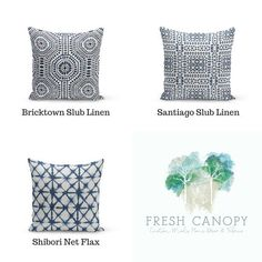 Blue Fan Shell Throw Pillow Set Of Two Zulily