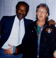 Chuck Berry and Paul <3
