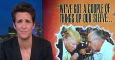 Rachel Maddow Blows The Lid Off Of What Is Really Behind The FBI Clinton Trashing (VIDEO)