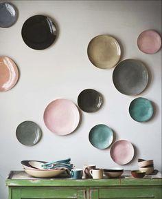 DIY Plates on Wall Ideas