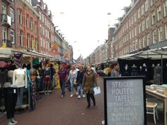 Bild från Albert Cuyp Market Amsterdam Travel, Family Travel, Netherlands, Trip Advisor, Holland, Nerdy, Street View, Marketing, People