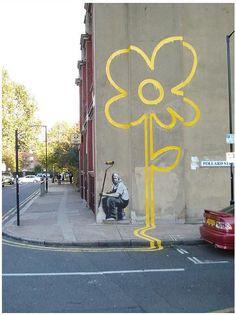 ★ BANKSY Graffiti Locations / Stencil Street Art Photo Gallery ★