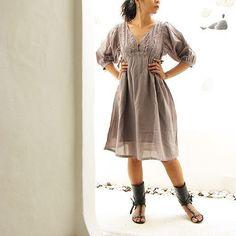 Joy...Dress mix silk  SMLXL.XXL by cocoricooo on Etsy, $44.00