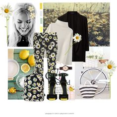 I can't help but begin to dream of warmer weather as we enter into a cold February. One of my favourite trends for this spring is the daisy trend. Daisies are p. Moschino, Marc Jacobs, Daisy, Motel, Spring, Polyvore, Asos, Boards, Stuff To Buy