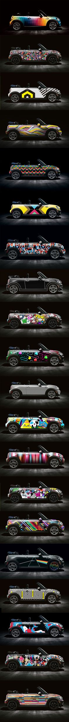 Mini Cooper Cool Wraps ♥ App for Mini Cooper Warning Lights, is now in App Store.  App info website: Carwarninglight.com