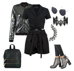 """""""Sparkle"""" by ayeeeitsfatso ❤ liked on Polyvore featuring Anita & Green, Boohoo, Hallhuber, Miss Selfridge and Office"""