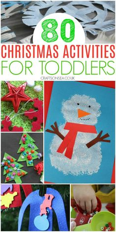80 Easy and Fun Christmas Activities for Toddlers – Kate Williams CraftsonSea – … – – art therapy activities Christmas Activities For Toddlers, Preschool Christmas Crafts, Christmas Crafts For Toddlers, Diy Gifts For Kids, Toddler Gifts, Kid Crafts, Holiday Crafts, Holiday Fun, Summer Christmas