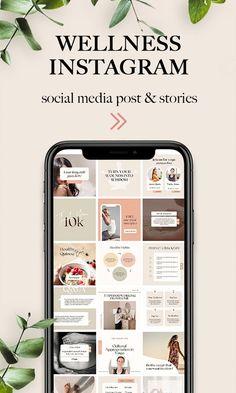 Instagram Posting App, Instagram Feed Planner, Instagram Feed Ideas Posts, Coach Instagram, Instagram Feed Layout, Instagram Post Template, Instagram Design, Social Media Design, Grafik Design