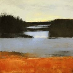 "Irma Cerese, Nova Scotia #22  acrylic on canvas  30""x30"" on ArtStack #irma-cerese #art"