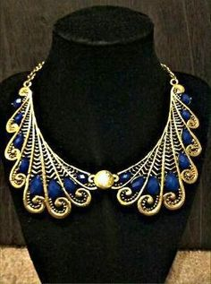 Gorgeous Egyptian Style Necklace F/S ... You can buy this item here... http://yardsellr.com/for_sale#!/gorgeous-egyptian-style-necklace-fs-5129866