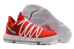 93e67382e6d Nike Kevin Durant Fast Shipping Nike KD 10 University Red White For  Discount With High Quality