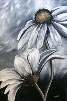 30 Creative Black And White Painting Ideas On Canvas Flower Painting Black And White Painting Ideas On Canvas Painting Ideas On Canvas Canvas Painting Ideas Easy Painting Ideas For Beginners Meaningful Painting Ideas Simple Acrylic Paintings, Easy Paintings, Flower Canvas Paintings, Portrait Paintings, Flowers On Canvas, Flowers To Paint, Simple Flower Painting, Landscape Paintings, Dark Art Paintings