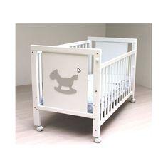Cuna de bebe lacada blanco Blasi Bed Caballito [800 CABALLO] | 156,00€ : La tienda online para tu peke | tienda bebe pekebuba.com