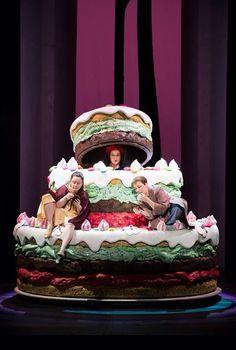 Hansel et Gretel, mît en scène par Mariame Clément, Opera de Paris,