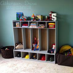 Kids Toy Storage Re-Vamp | Atkinson Drive