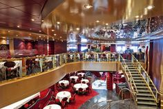 MSC Fantasia - Red Velvet - Welcome to the celebration of Italian cuisine that is Red Velvet restaurant. This is a sumtuous place to dine from its red velvet cushions to Murano glass chandeliers, refined porcelain to crystal glasses and silver flatware. Every evening, Red Velvet offers a different menu to celebrate an Italian region with its typical cuisine and most renowned wines.