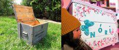 Ágness otthondekor blogja: Leppukkadt, rozsdás, orosz ládából játéktároló