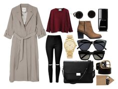 """""""Без названия #6"""" by dobrayaprosto ❤ liked on Polyvore featuring Monki, WithChic, Aspinal of London, Michael Kors, H&M, Chanel, Le Specs, Yves Saint Laurent and STOW"""