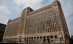 The  Chicago Merchandise Mart, opened in 1930, is being revitalized.  Article by ERIN CHAN DING, NY Times.