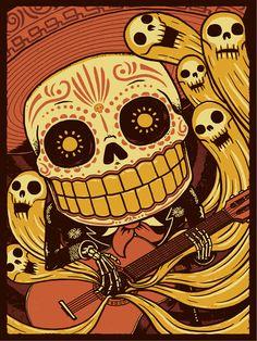 Mariachi De Los Muertos