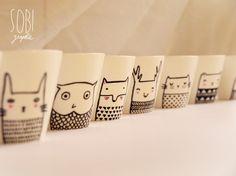 Ikea-Tassen bemalen