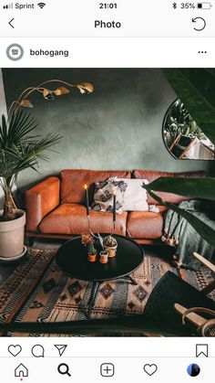 50 Best Small Living Room Design Ideas - The Trending House Small Living Room Design, Boho Living Room, Interior Design Living Room, Living Room Designs, Living Room Decor, Bedroom Decor, Style At Home, Interior Desing, Home Office Decor
