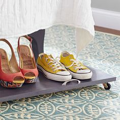 7 Creative Ways To Store Your Shoes | Storage, Organizations And Organizing