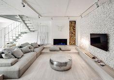 Modern apartment in Ukraine