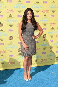 Pin for Later: Seht alle Stars bei den Teen Choice Awards! Gina Rodriguez