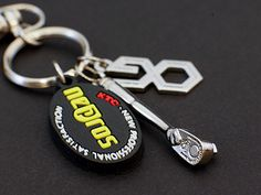 keyring of ratchet handle