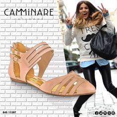Porque o dia fica mais bonito com essa #flat Camminare! ☀️ #camminare #shoes #love #shoescm  #dialindo #agentefaz #moda #fashion #mulheres