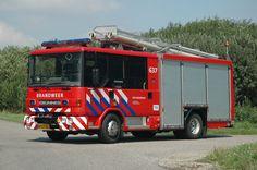 Een brandweerauto moet snel ter plaatse zijn