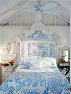 Blue And White Bedrooms teamusa #olympics master bedroom - mediterranean blues and whites