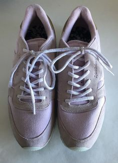 2c2d53aea9f Reebok classic leather Tennis Shoes Sea shell purple pink womens us 10  Sneakers