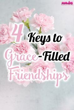 We all need friends. We all need people in our lives who we influence and who influence us. Without those connections, we end up feeling lonely. Have you been there? I sure have, I'm right there with you. Relationships can be tricky. If we aren't filled with grace, we can be sure that our friendships will have some contention. Having grace-filled friendships can be difficult in this fallen world but it isn't impossible!