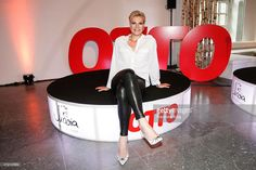 Maria Hoefl-Riesch attends the OTTO Exclusive Sport Cooperation celebrations on May 04, 2015 in Munich, Germany.