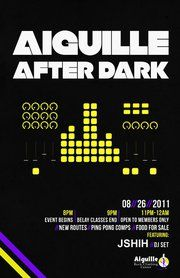 Darkness Falls On Friday - Aiguille After Dark