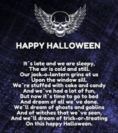 short halloween love poems