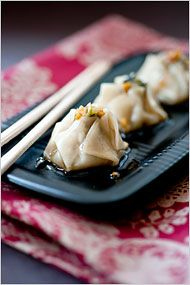 Shrimp and Cilantro Shu Mai - Recipe - NYTimes.com. Have made these a million times. They are easy and delicious!