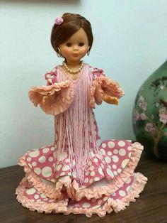 Princess Style, My Princess, Folklore, Regional, Pop, Doll Dresses, Baby Doll Clothes, Flamenco Dresses, Crochet Dolls