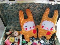 Homemade Obsessions: Sew Cute Bunny Free Pattern link