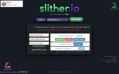 Slitherio Mods Chrome Extension Let's find out the chrome extension for Slither.io Mods now! This new expansion is known as… Slither Io, Party Background, The Expanse, Extensions, Chrome, Coding, Hair Extensions, Full Sew In, Programming