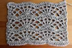 Lacy Crochet: Back to Blogging and Lacy Fans Crochet Stitch