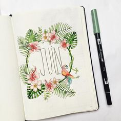 91 mentions j'aime, 9 commentaires - constance ( sur instagr Bullet Journal En Français, Bullet Journal Monthly Spread, Journal Covers, Journal Pages, Calligraphy Drawing, Constance, Planner, Cover Pages, Filofax