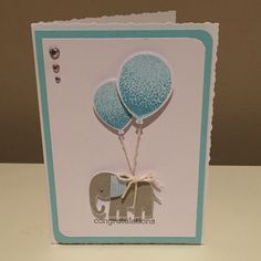 New baby card x