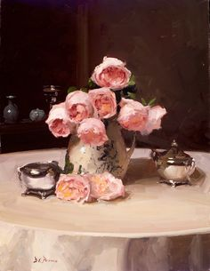 Roses with Silver - Dennis Perrin