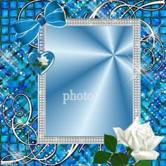 Rhinestones frame