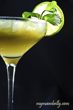 The Coconut Mojito. This recipe uses coconut water that is much lighter in flavor, and calories, but also contains lots of potassium and electrolytes.  The matcha powder in this recipe is packed with antioxidants.  In contrast to those alcohol and caffeine packed drinks, this one is alcohol and healthy ingredient packed.