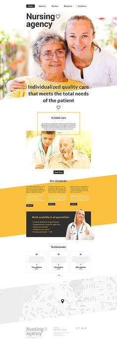 Medical website inspirations at your coffee break? Browse for more Responsive JavaScript Animated #templates! // Regular price: $69 // Sources available: .HTML,  .PSD #Medical #Responsive JavaScript Animated